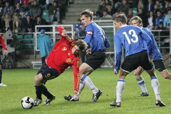 37aea977ad3 Kolmel korral õnnestus Hispaania superstaaridel siiski Eesti kaitsemüürist  läbi pugeda. Foto: Siim Semiskar