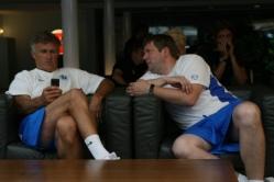 Tarmo Rüütli (vasakul) koos abilise Janno Kivisillaga. Foto: Timo Kikas