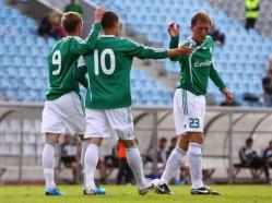 Tallinna Levadia kolm olulist täiendust: Vitali Gussev, Vladislav Ivanov ja Tarmo Neemelo. Foto: Catherine Kõrtsmik