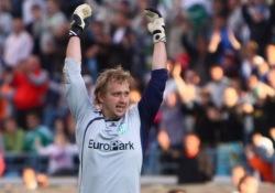 Martin Kaalma on lubanud enda väravasse vaid pool palli mängu kohta. Foto: Catherine Kõrtsmik
