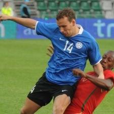 Konstantin Vassiljev – enim mänge, enim väravaid ja ka ilusaim värav. Foto: Heiki Rebane