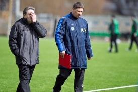 Burdakov (vasakul) ja Jagudin. Foto: Hendrik Osula