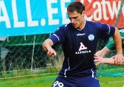 Jevgeni Kabajev on Sillamäe meeskonna üks olulisemaid mängijaid. Foto: Gertrud Alatare