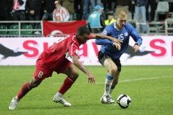 Viis aastat möödas ja nüüdsel Eesti koondise kaptenil Ragnar Klavanil on sama soeng. Hea enne? Foto: Siim Semiskar/ERR Sport
