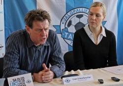Uwe Erkenbrecher ja Jane Afshar. Foto: Rein Murakas