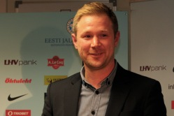 Eesti koondise peatreener Magnus Pehrsson. Foto: Regina Rähn