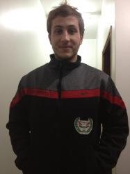 Hadžanovic uue klubi dressis. Foto: Adis Hadžanovici Facebooki lehekülg