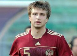 Tšeminava Venemaa noortekoondise särgis. Foto: worldfootball,net