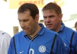 Sergei Bragin ja Toomas Krõm võitsid kahe peale viis parima väravaküti tiitlit. Foto: Siim Semiskar/ERR Sport