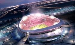 2022. aasta MM-i finaali areen Lusaili staadion.