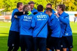 Eestlaste edu võtmeks võib osutuda meeskondlik mäng. Foto: Gertrud Alatare