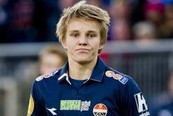 Norrakate üks glamuursemaid nimesid on kahtlemata 15-aastane Martin Ødegaard. Foto: barcaforum.com