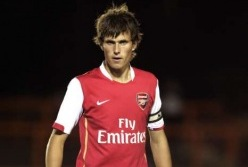 Hetkel Borussia Mönchengladbachis palliv Håvard Nordtveit kuulus noorena Arsenali ridadesse. Foto: arsenalyouth.wordpress.com