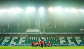 FC Florat tähistav FCF kaob varsti tribüünilt. Foto: Jana Pipar