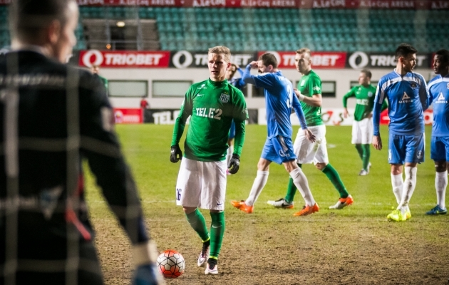 0:0 kohtumises eksis Markus Jürgenson penaltil. Foto: Jana Pipar