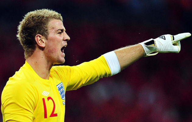 Joe Hart. Foto: gk1.co.uk