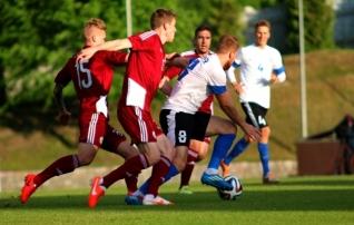 Eesti ei kasutanud Läti vastu ülekaalu ära