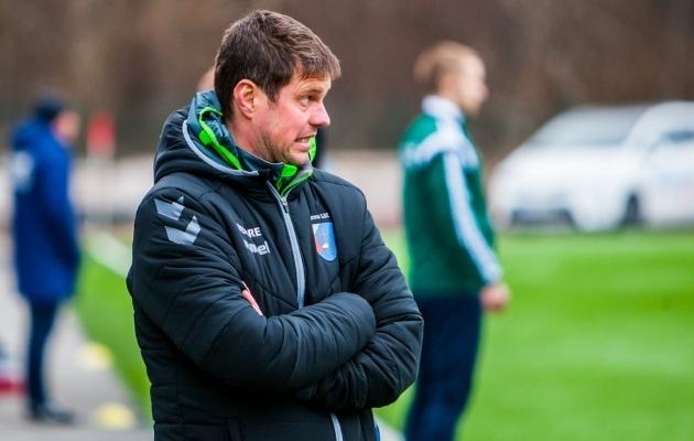 U-19 koondise peatreener Marko Lelov. Foto: Gertrud Alatare