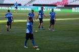 Eesti koondise treening enne mängu Portugaliga