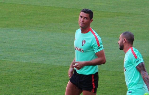 Cristiano Ronaldo kaitses oma riigi au, kui mina retkele asusin. Foto: Regina Rähn