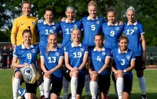 Naiste koondis loositi ühte MM-valikgruppi Lätiga
