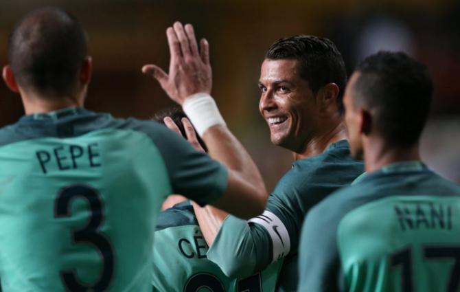 Portugali saatus on taas Ronaldo õlgadel