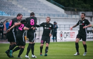 Nõmme Kalju alistas penaltiseerias Maccabi Haifa, võõrsil löödud väravad kukutasid Levadia