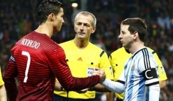 Ronaldo ja Messi erinevad variandid