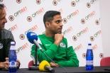Maccabi Haifa pressikonverents ja treening