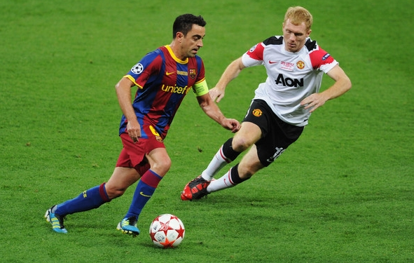 Xavi: Messi läheb närvi, kui teda mängu ei kaasata