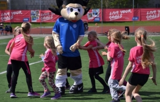 Tüdrukute jalgpallifestivalidel osales rekordilised 545 noort