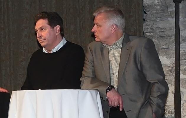 Nikolai Burdakov ja Valeri Bondarenko. Foto: Hendrik Osula