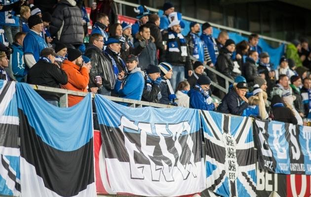 Jalgpallifännide jalgpalliklubi hakkab välja andma Eduard Ellmanni rändkarikat. Foto: Brit Maria Tael