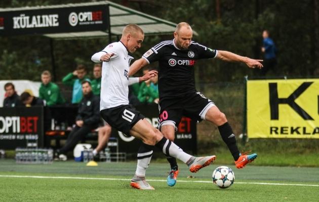 Juki naasis tagasi Eestisse mänge otsustama. Foto: Jana Pipar