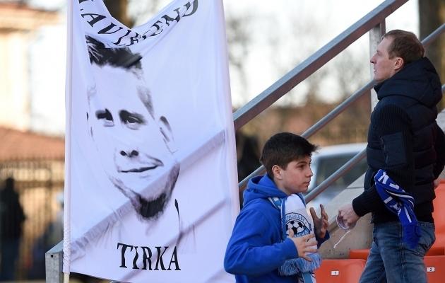 29. oktoober - Tartu jalgpalli elav legend Kristjan Tiirik jätab Tamme staadioniga hüvasti. Nõmme Kalju 1:0 võitu väärata siiski ei õnnestu. Foto: Imre Pühvel