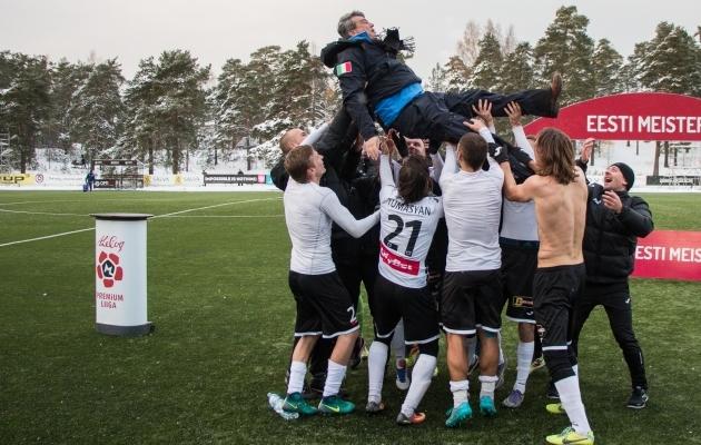 Hetk eelmise hooaja lõpust, kui meeskond Andrei Leškini taeva poole tõstis. Foto: Brit Maria Tael