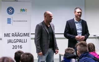 Lõimumisprojekt pakkus toreda jalgpallipäeva 511 inimesele