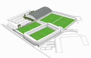 Eskiis: 4500 istekohaga Sportland Arenal saavad olema 11 meetrit kõrged tribüünid