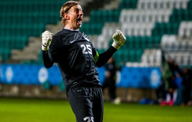 Sergei Pareiko seadis uue Eesti rekordi 2015. aasta novembris St Kitts & Nevise vastu. Foto: Gertrud Alatare