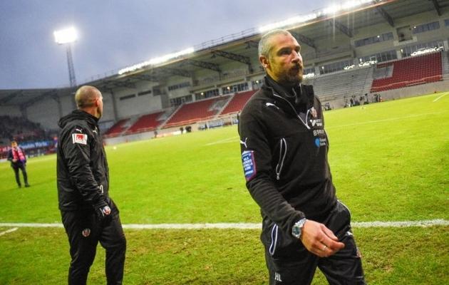 Henrik Larsson ei ole tänasest enam Helsingborgi peatreener. Foto: Twitter
