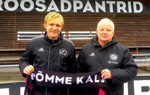 Erko Saviauk ja Valeri Bondarenko. Foto: Nõmme Kalju kodulehekülg