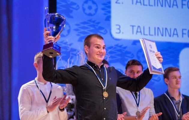 Maksim Zelentsov sai esimese profilepingu. Foto: Brit Maria Tael