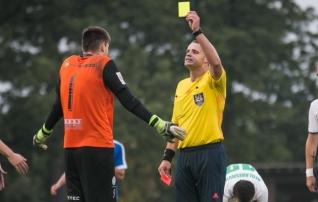 Kollaste kaartide reegel Eesti tippliigades muutus pisut leebemaks