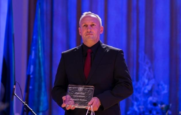 Eelmisel aastal pälvis aasta treeneri auhinna Aleksandr Puštov. Foto: Brit Maria Tael