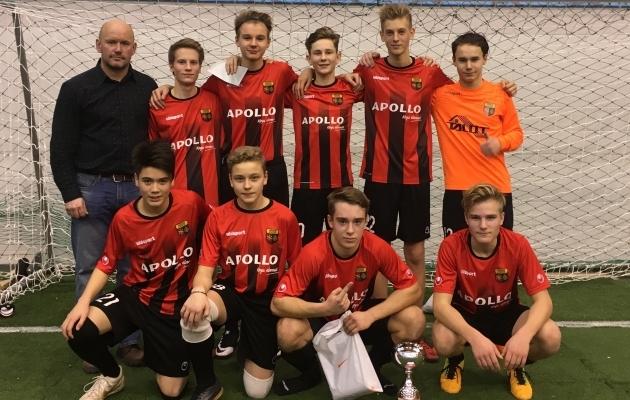 Võitjameeskond Nõmme United II. Foto: EJL