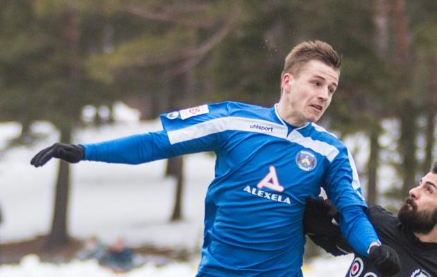 Igor Dudarev on sügisest saati klubita olnud. Praegu treenib ta Levadiaga. Foto: Jana Pipar