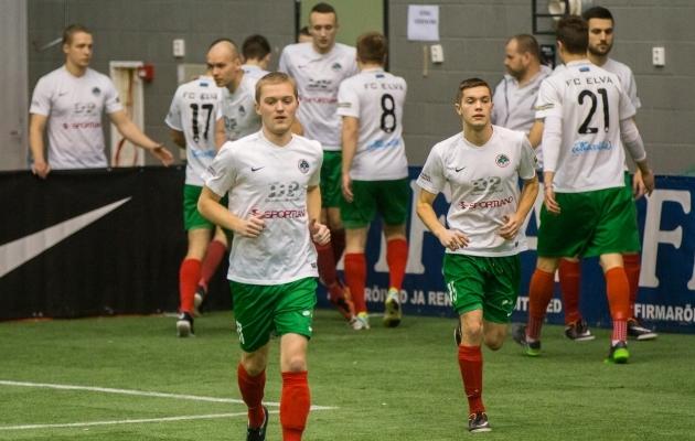 FC Elva meeskond Aastalõputurniiril. Foto: Brit Maria Tael