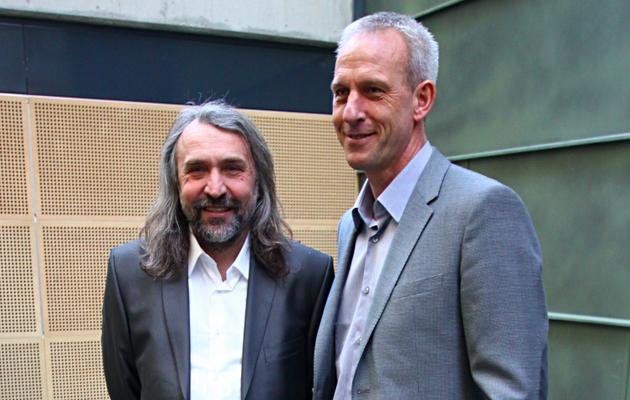 Aivar Pohlak ja Arno Pijpers 2012. aastal. Foto: Hendrik Osula