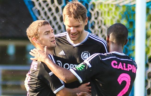 Jarmo Ahjupera pidas Kalju särgis kõrgliigas vaid viis mängu, millega lõi kolm väravat. Foto: Jana Pipar