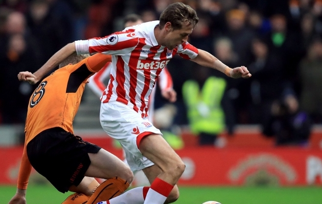 Peter Crouch. Foto. Stoke City Twitter